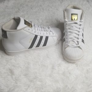 Adidas pro Model High top Sneakers size 6.5
